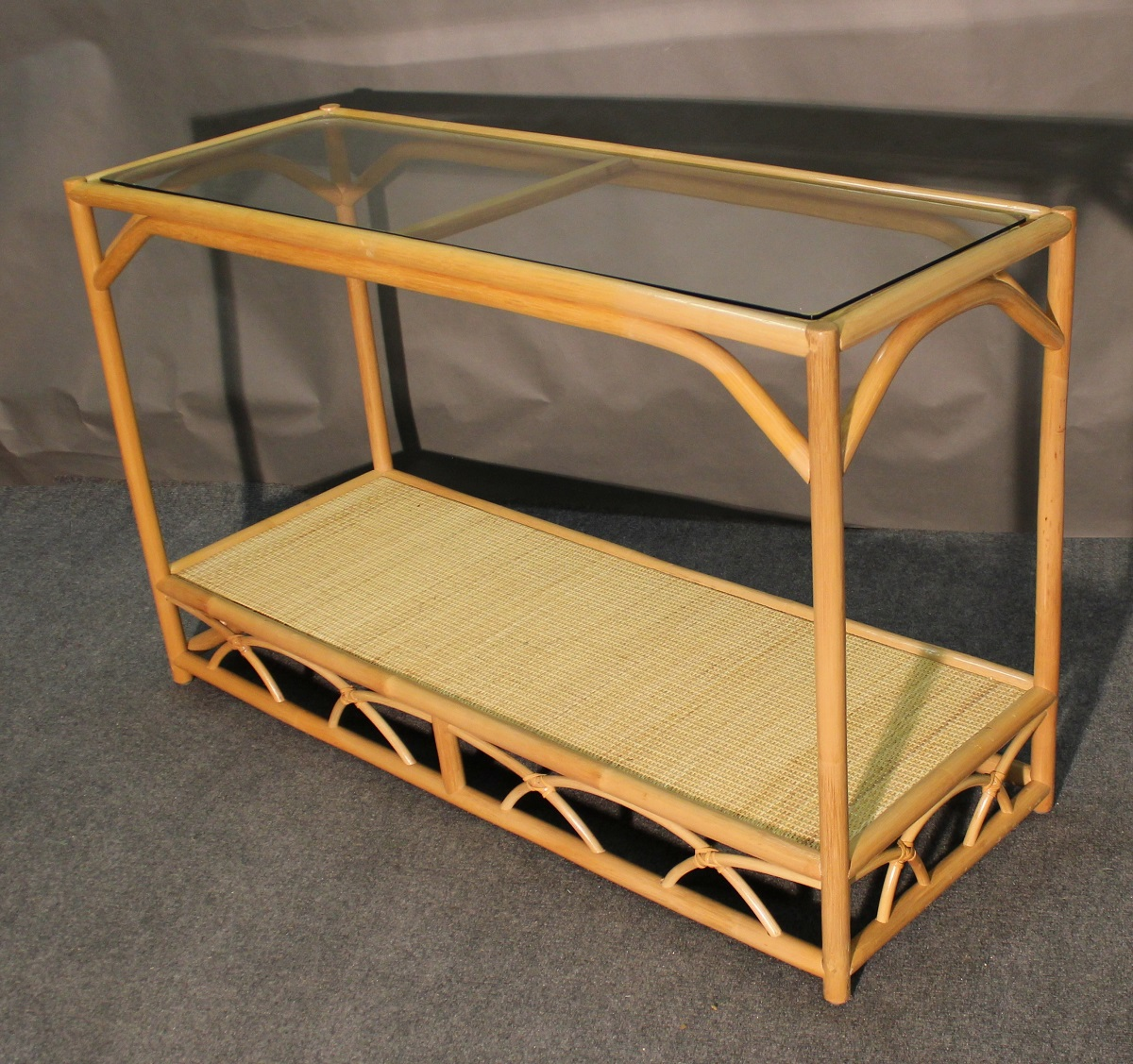 Aruba Rattan Console Table