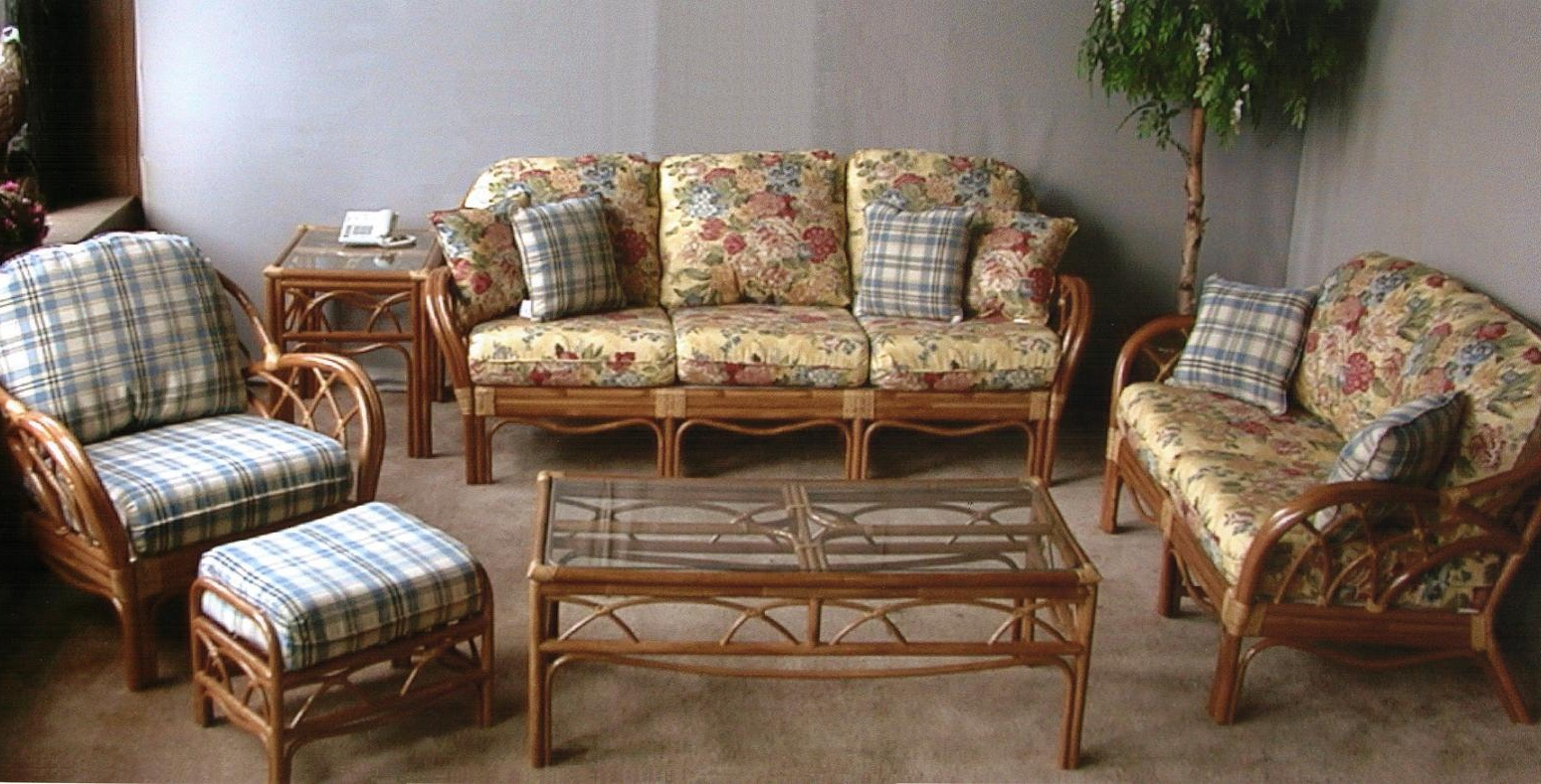 Aruba Rattan 6 Piece Seating Set