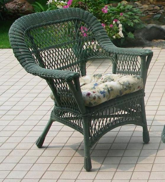 Mackinac Outdoor Wicker Chair