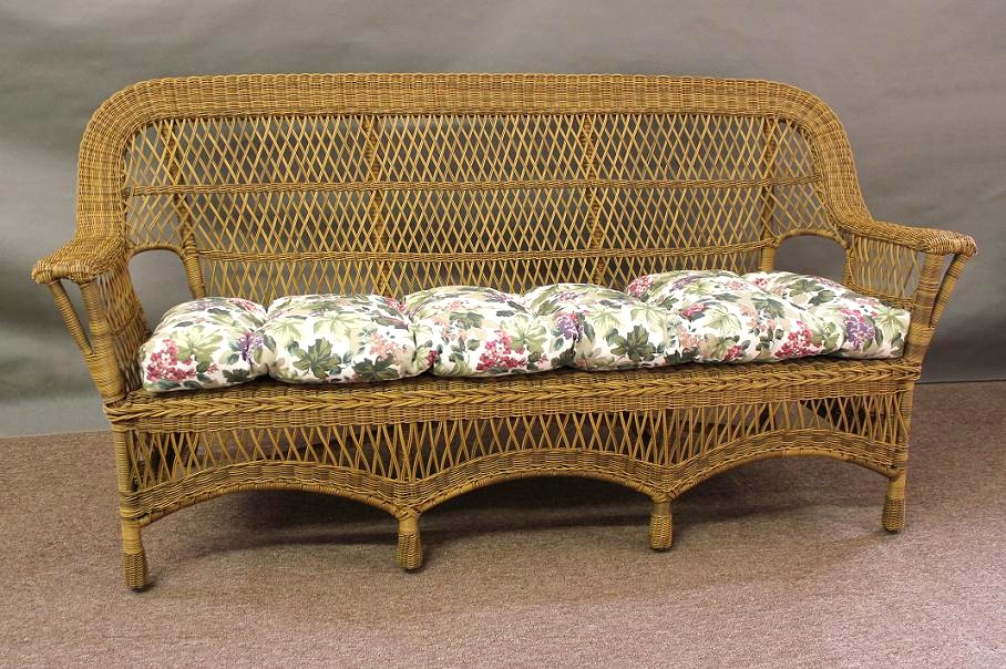 Superior Mackinac Outdoor Wicker Sofa