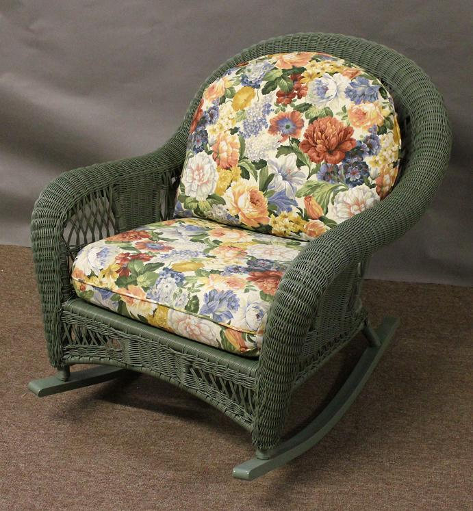 St Lucia Outdoor Wicker Rocker