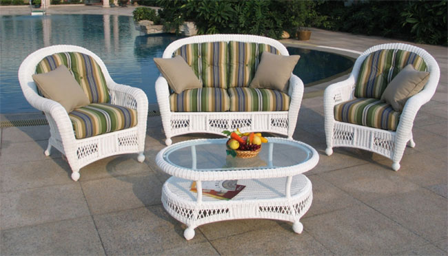 St Lucia 4 Piece Outdoor Seating Set