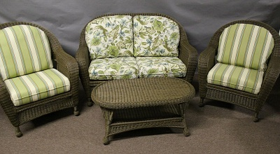 St Thomas Outdoor Wicker Collection
