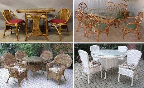 Wicker & Rattan Dining Furniture