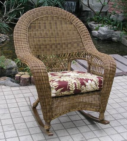 Charleston Outdoor Wicker Rocker