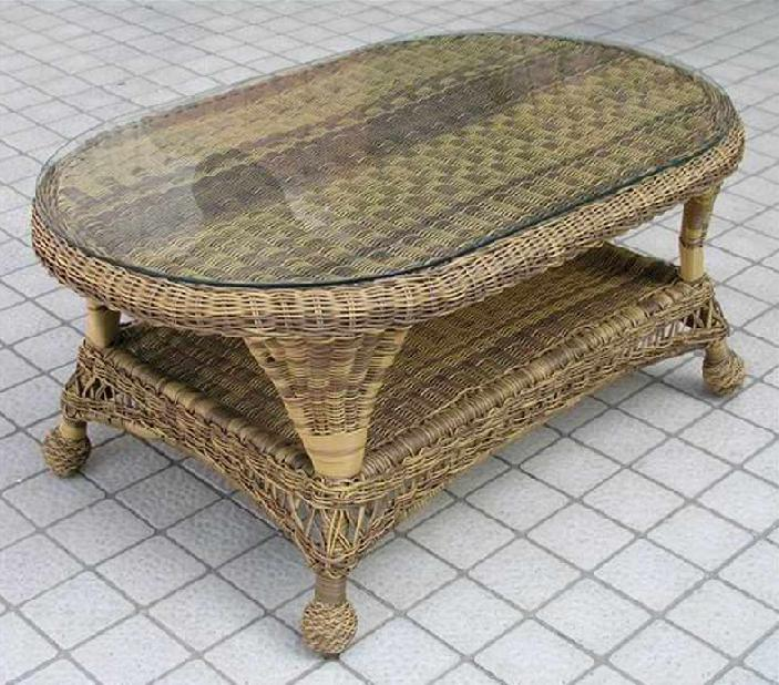 Charleston Outdoor Wicker Coffee Table
