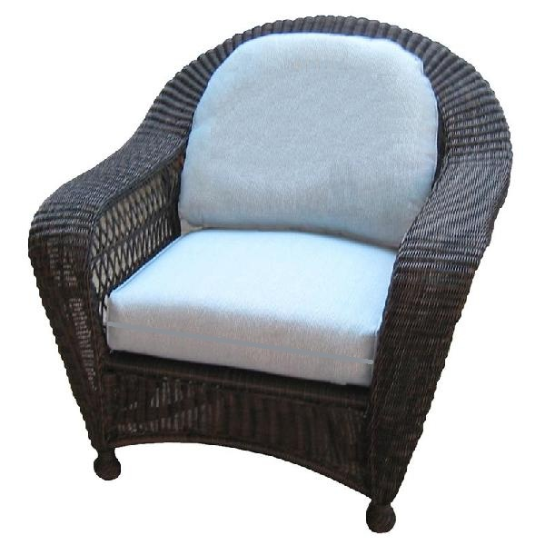 Charleston Outdoor Wicker Club Chair