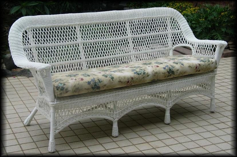 Mackinac Outdoor Wicker Sofa